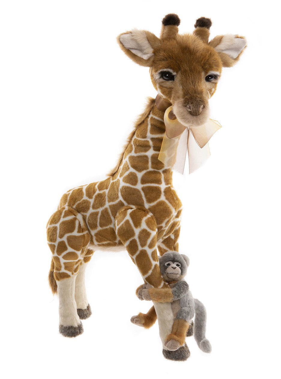 Mimosa Giraffe And Africa by Charlie Bears™