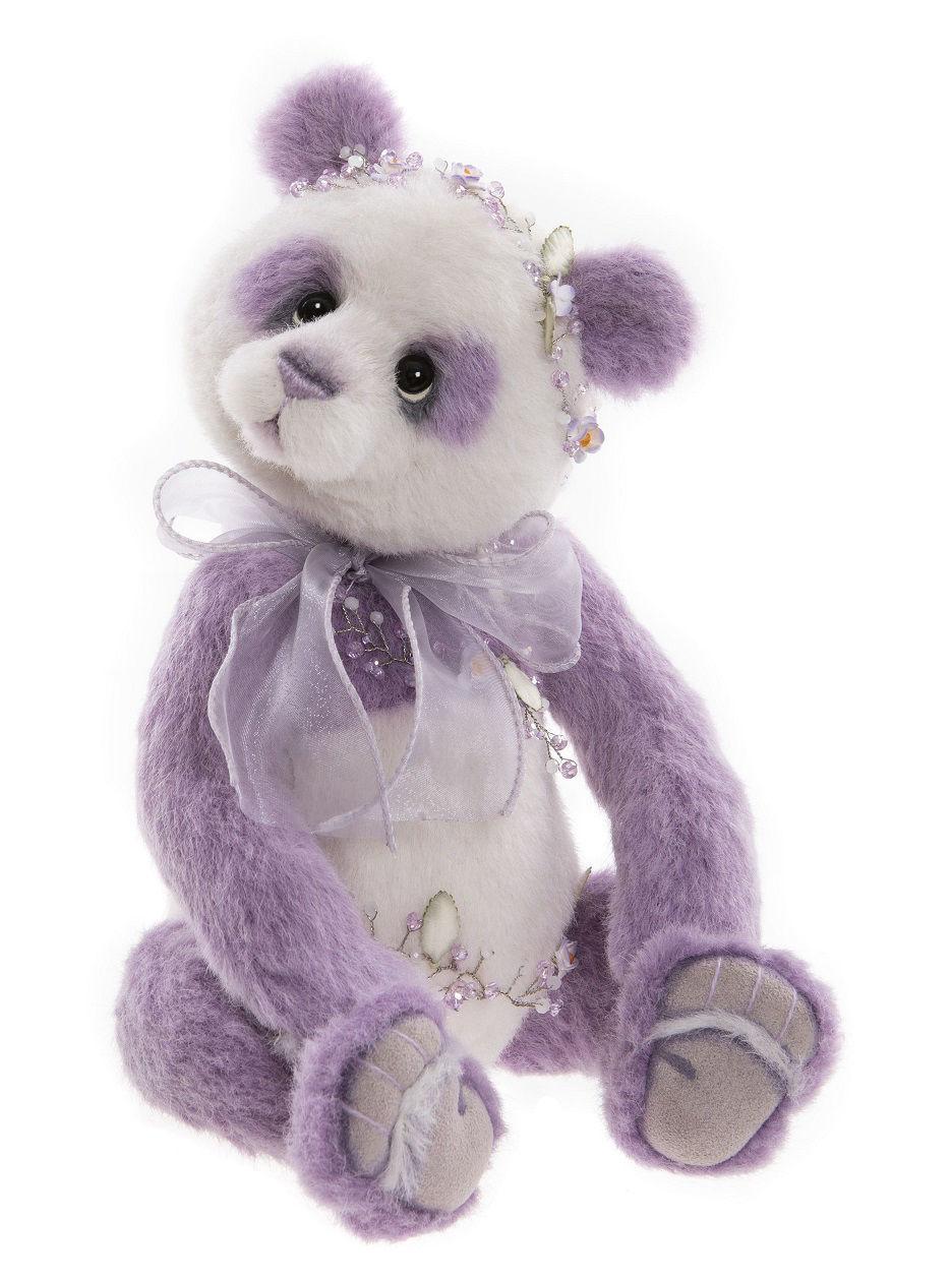 Lavender Panda  by Charlie Bears™