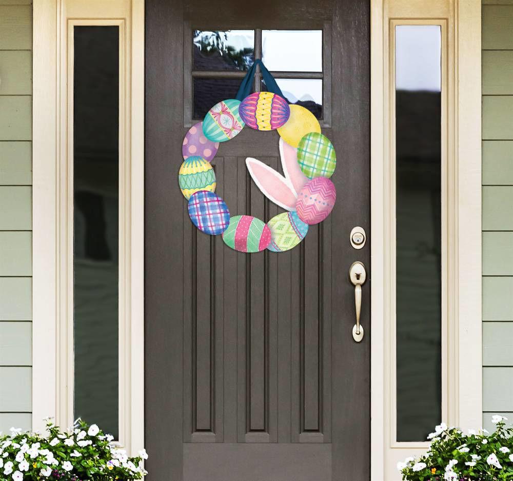 Where's the Bunny Door Decor by Studio M