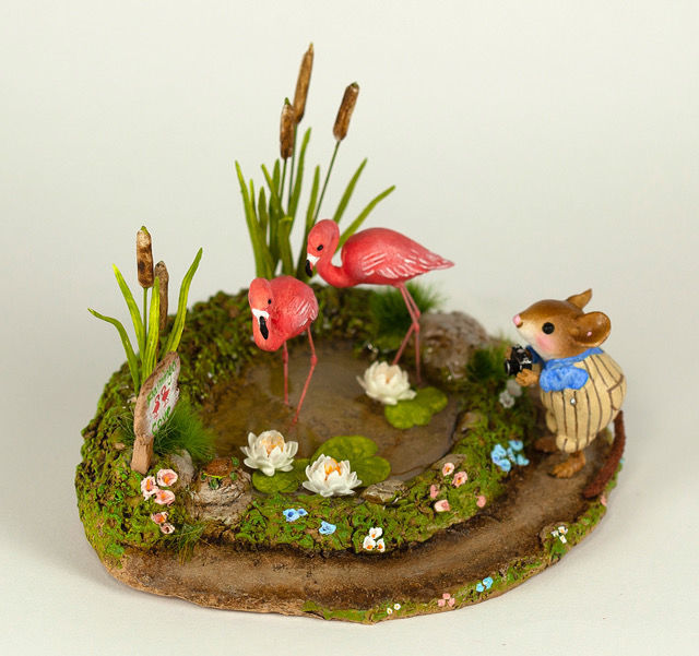 Flamingo Cove M-397CH by Wee Forest Folk