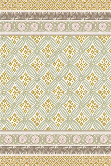 Hadley Hall - Sunshine Floor Flair - 4 x 6  by Studio M