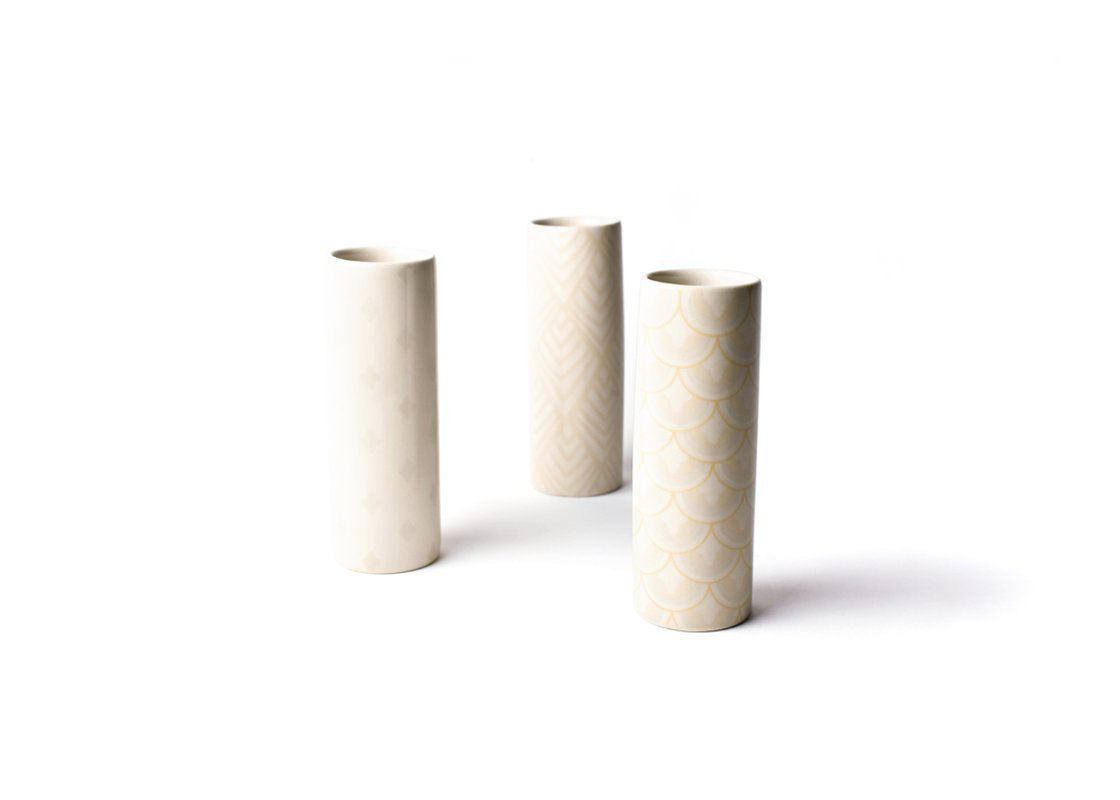 Blush Tube Vases, Set Of 3 by Coton Colors