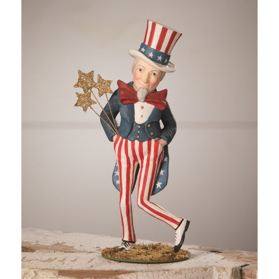 Dancing Uncle Sam by Bethany Lowe