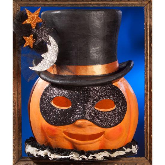 Magic Halloween Jack O'lantern Large Paper Mache by Bethany Lowe Designs