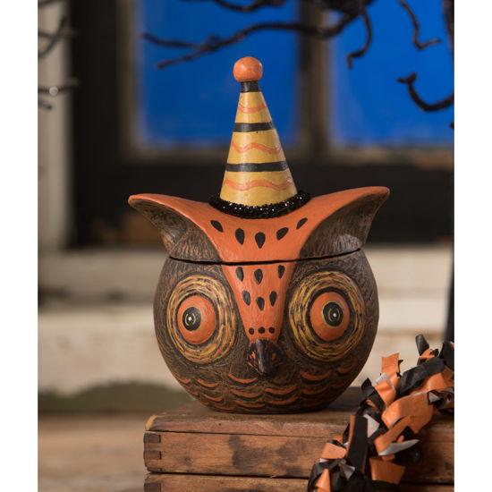 Spooky Owlfonzo by Bethany Lowe Designs