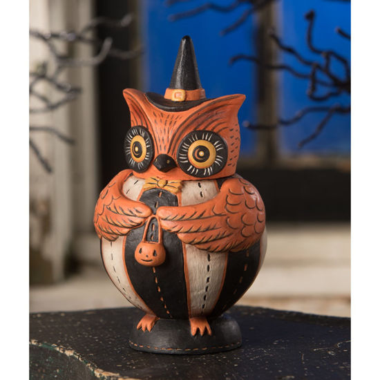 Owlster Hoots Spooks Jar by Bethany Lowe Designs
