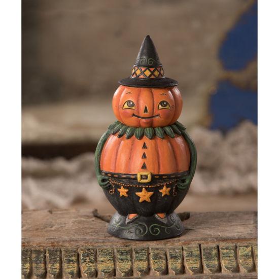 Pumpkin Pete Spooks Jar by Bethany Lowe Designs