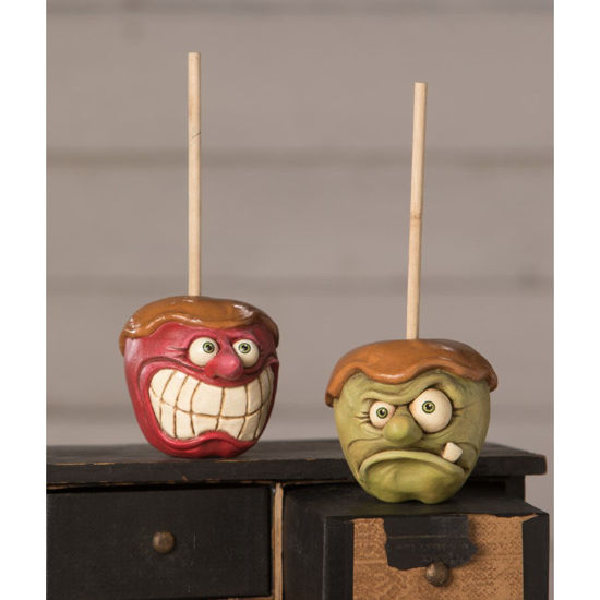 Kooky Carmel Apple Set by Bethany Lowe Designs