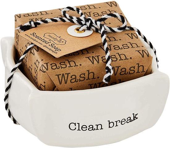 Clean Break Circa Dish Soap Set by Mudpie