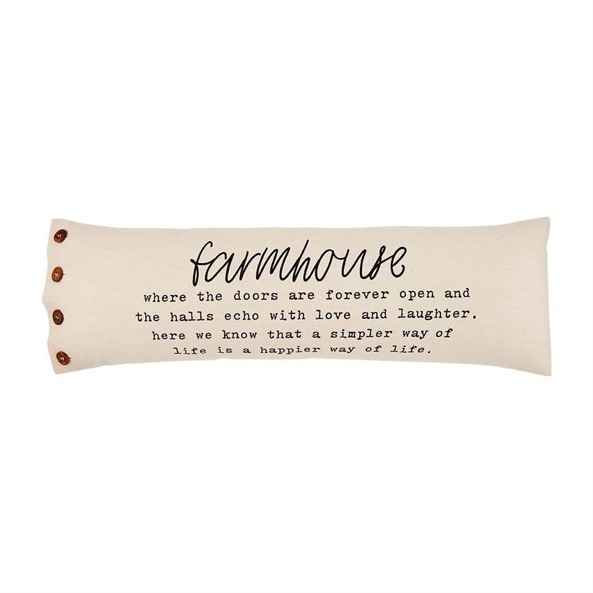 Farmhouse Definition Pillow by Mudpie