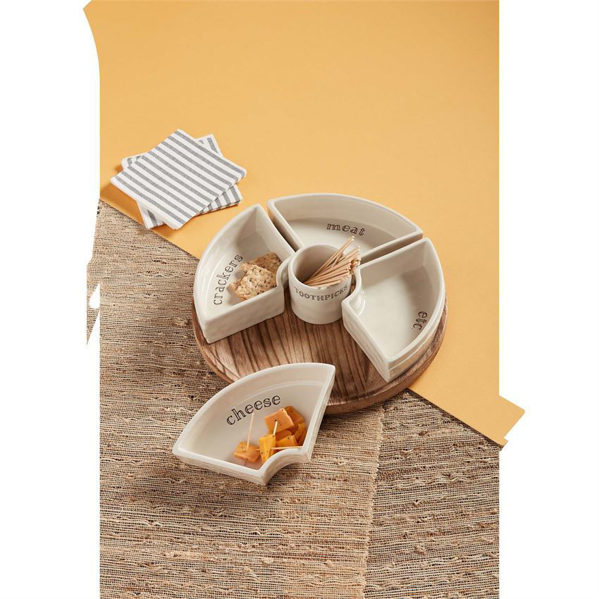 Snack Tray Set by Muduie