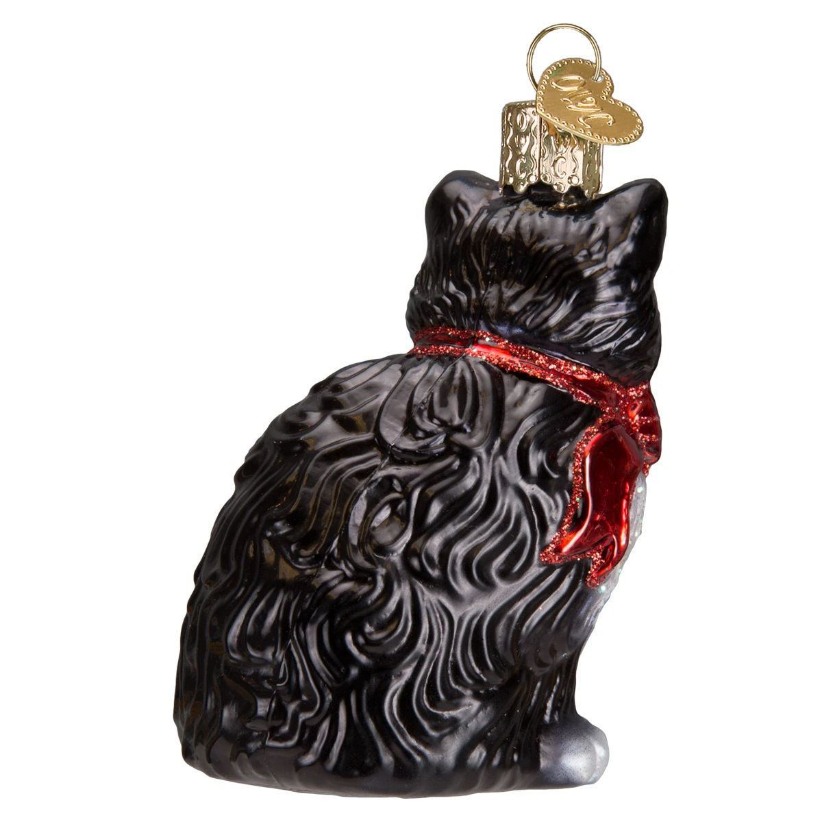 Tuxedo Kitty Ornament by Old World Christmas