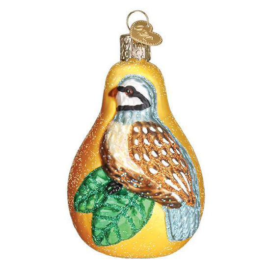 Partridge In A Pear Ornament by Old World Christmas