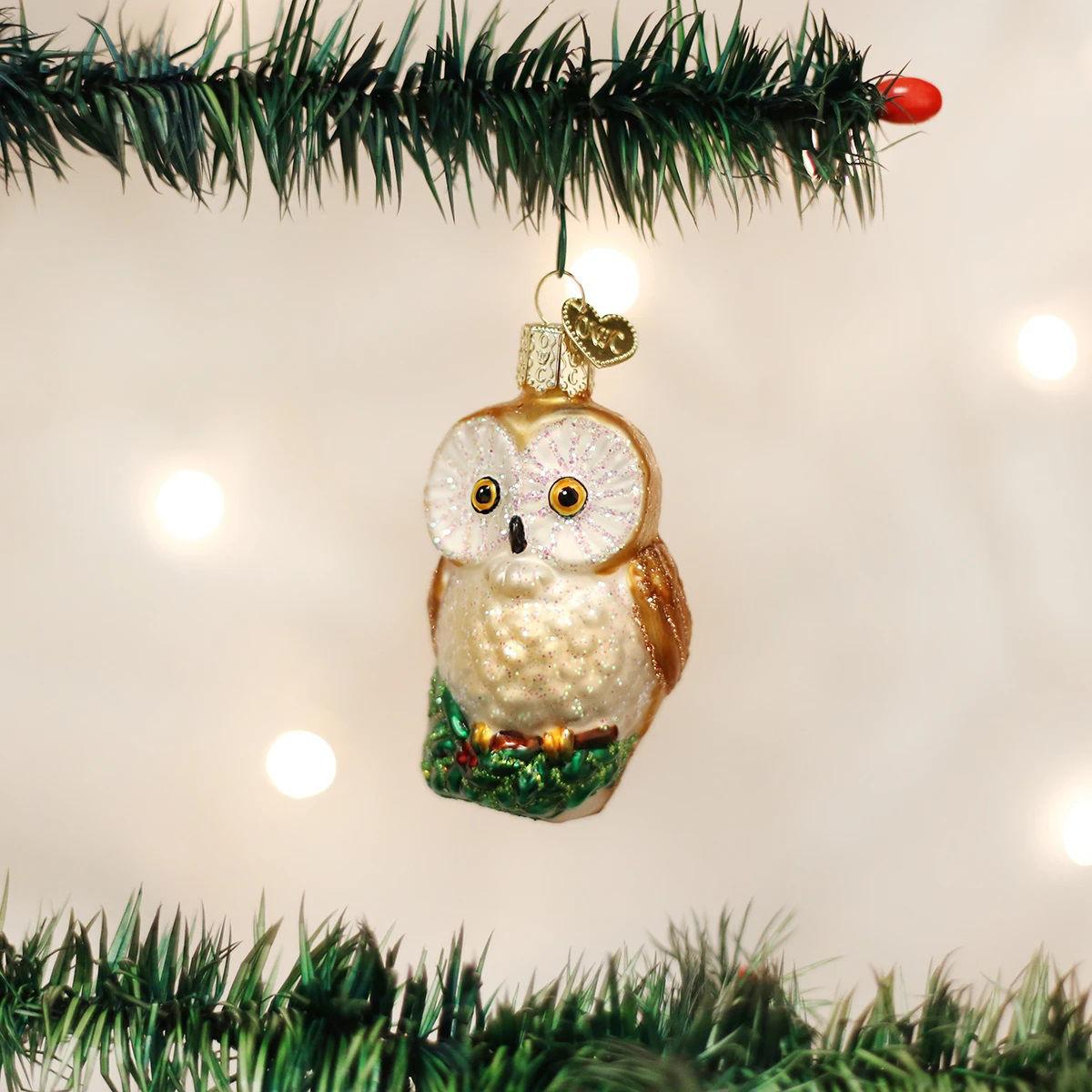 Christmas Owl Ornament by Old World Christmas