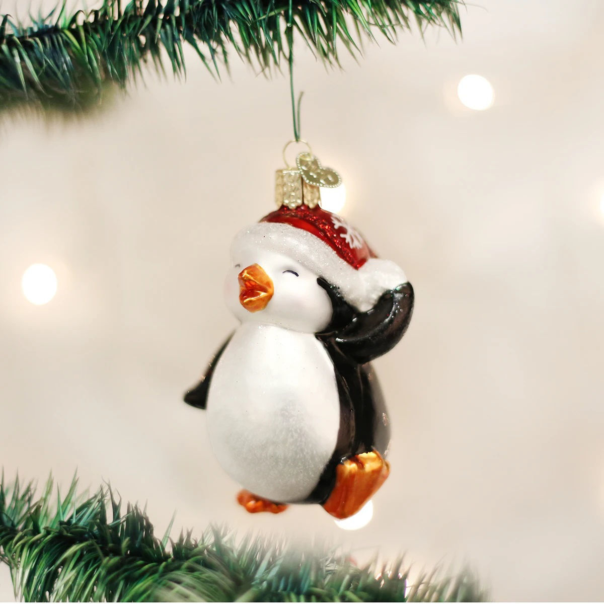Dancing Penguin Ornament by Old World Christmas