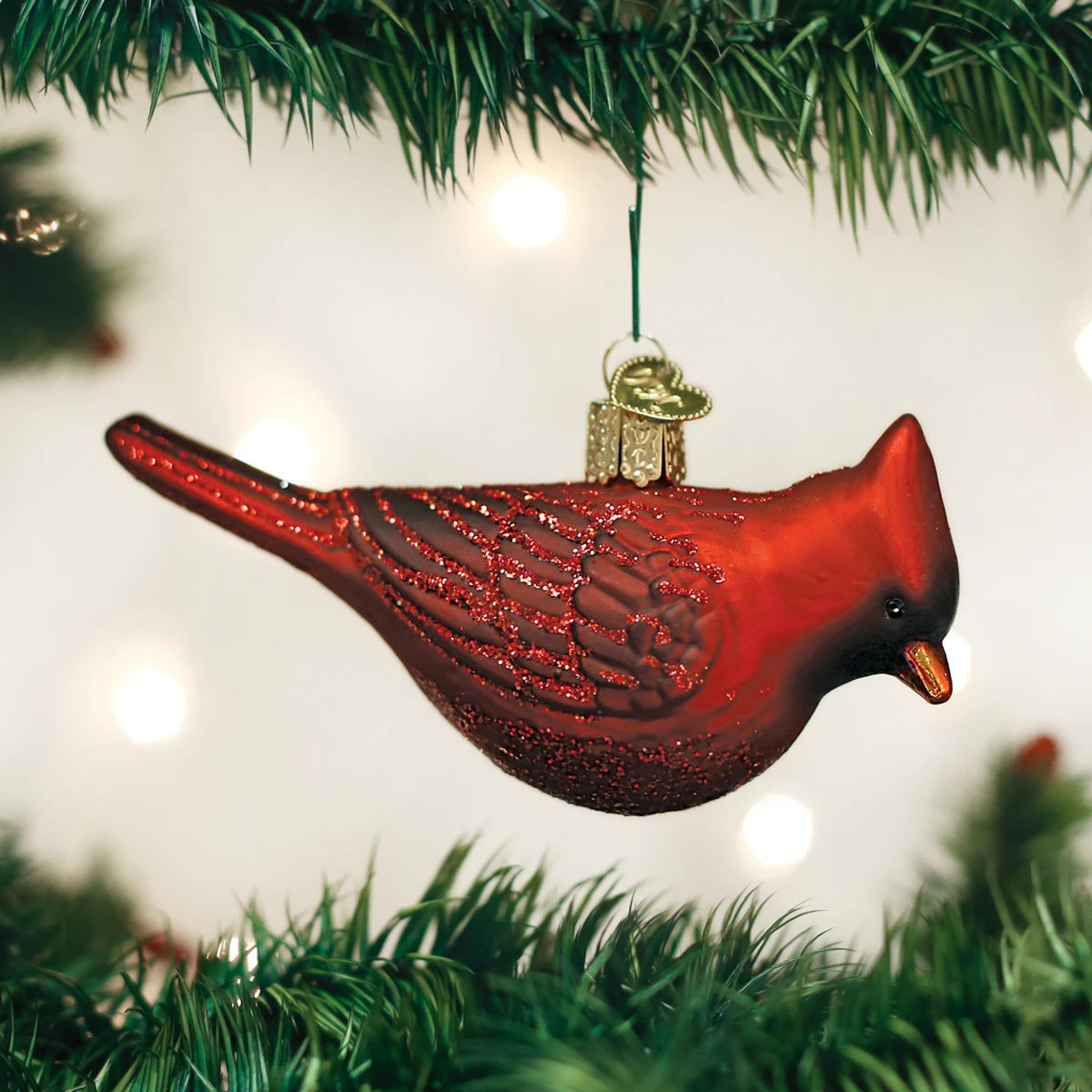 Northern Cardinal Ornament by Old World Christmas