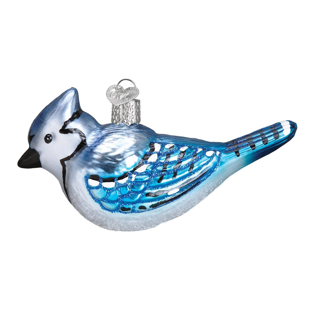 Bright Blue Jay Ornament by Old World Christmas