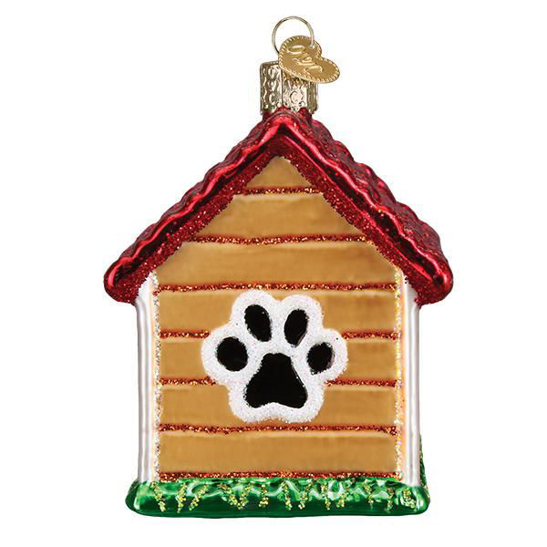 Dog House Ornament by Old World Christmas