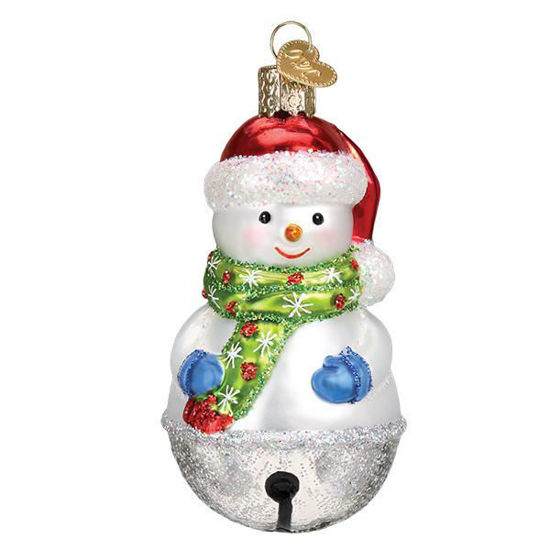 Jingle Bell Snowman by Old World Christmas