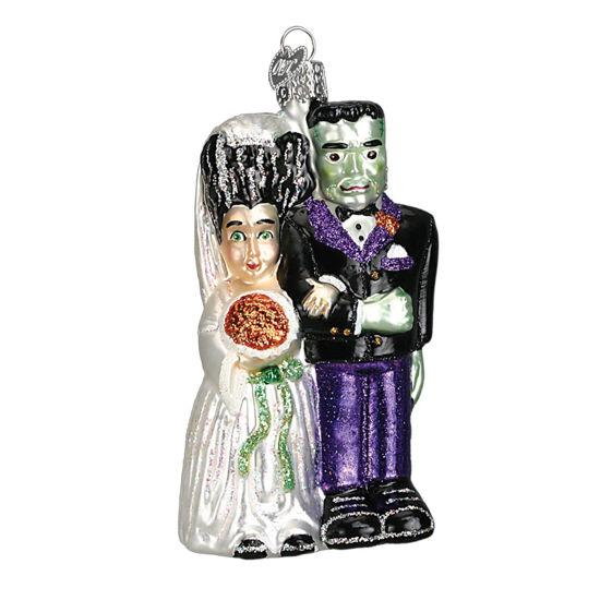 Frankenstein & Bride Ornament by Old World Christmas