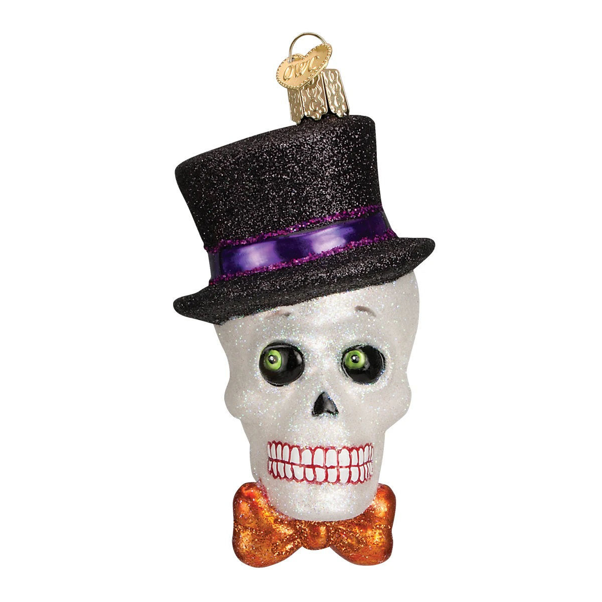 Top Hat Skeleton Ornament by Old World Christmas