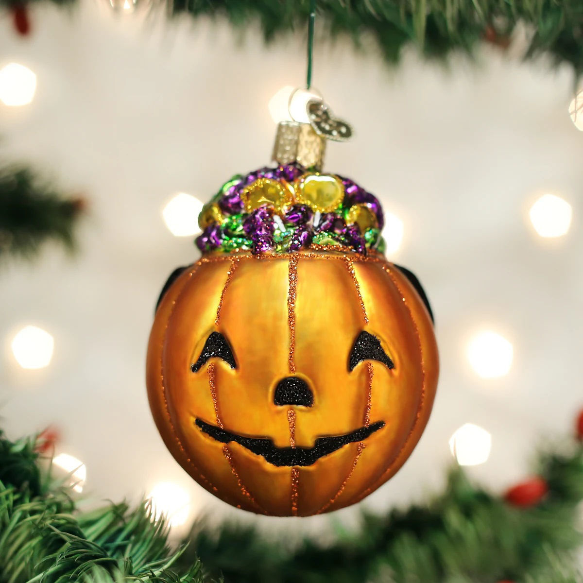 Trick-or-treat Ornament by Old World Christmas