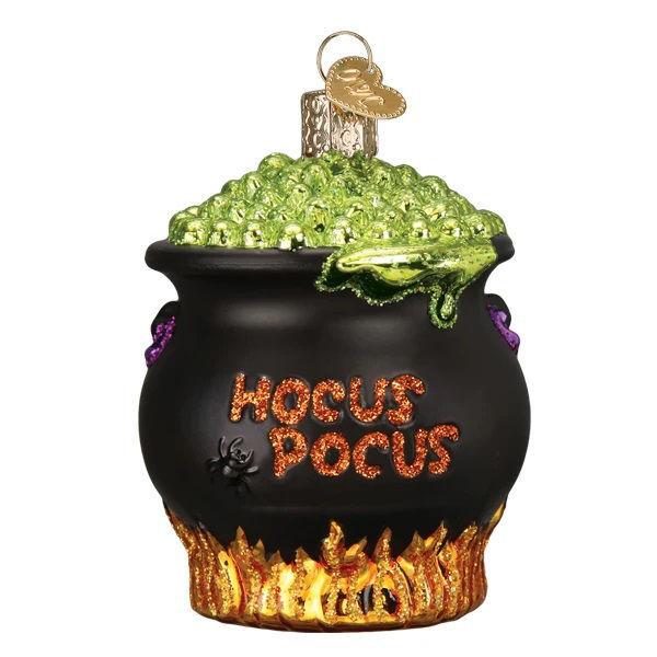 Halloween Cauldron Ornament by Old World Christmas