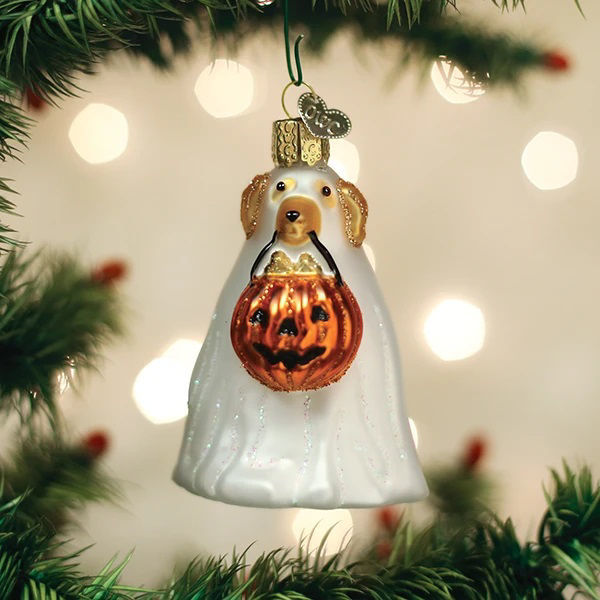 Trick-or-Treat Pooch Ornament by Old World Christmas