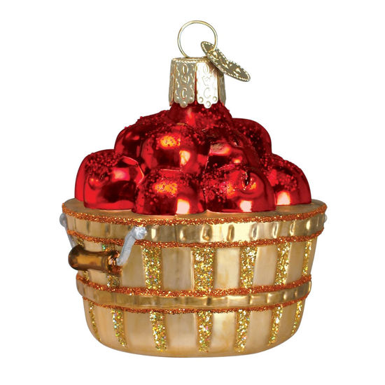 Apple Basket Ornament by Old World Christmas