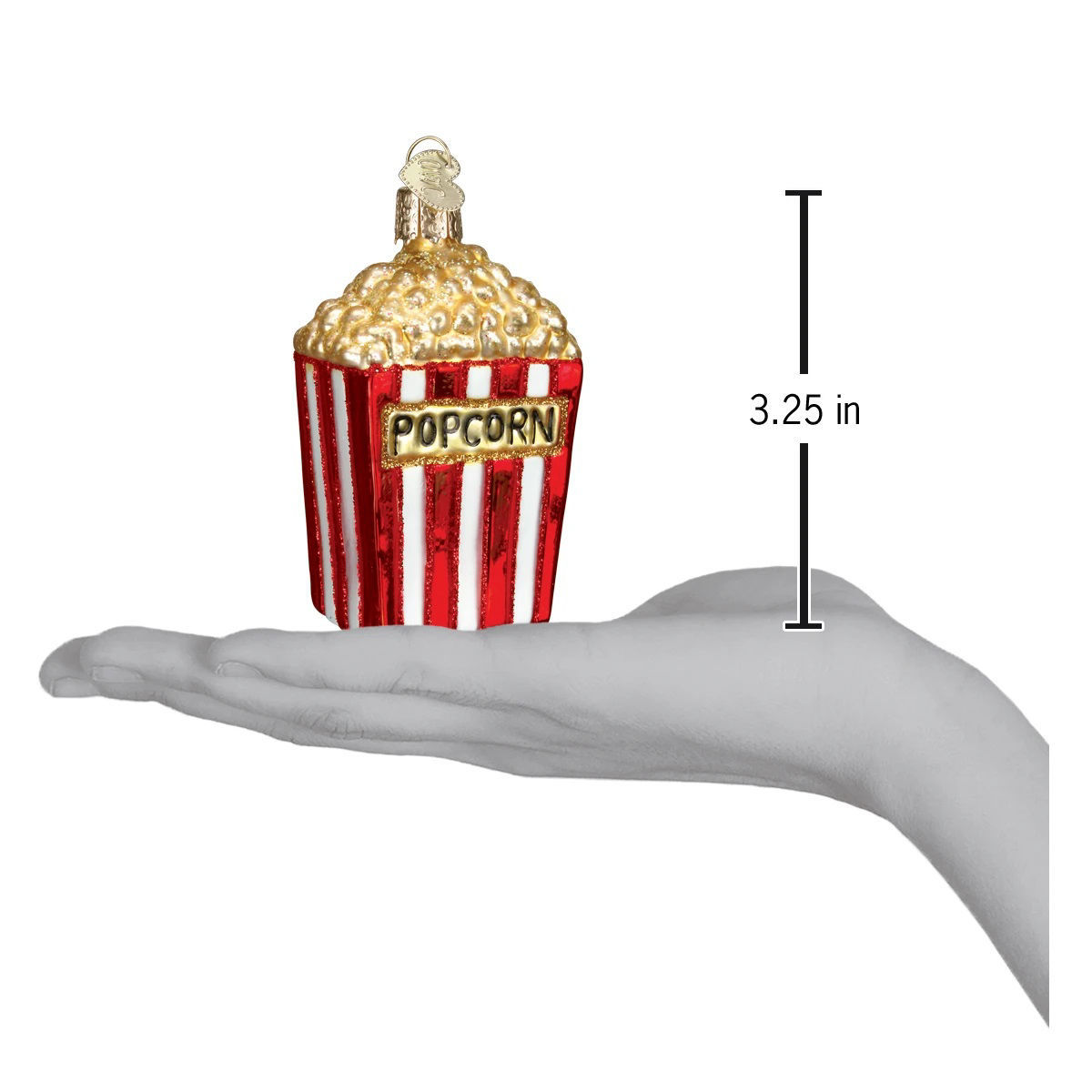 Popcorn Ornament by Old World Christmas