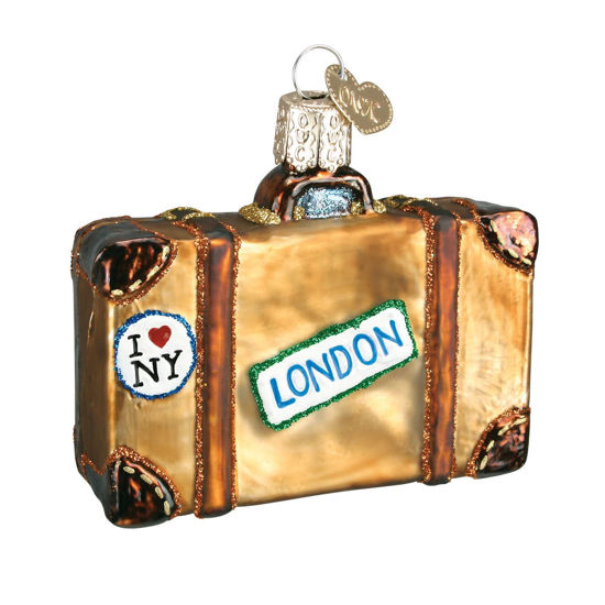 Suitcase Ornament by Old World Christmas