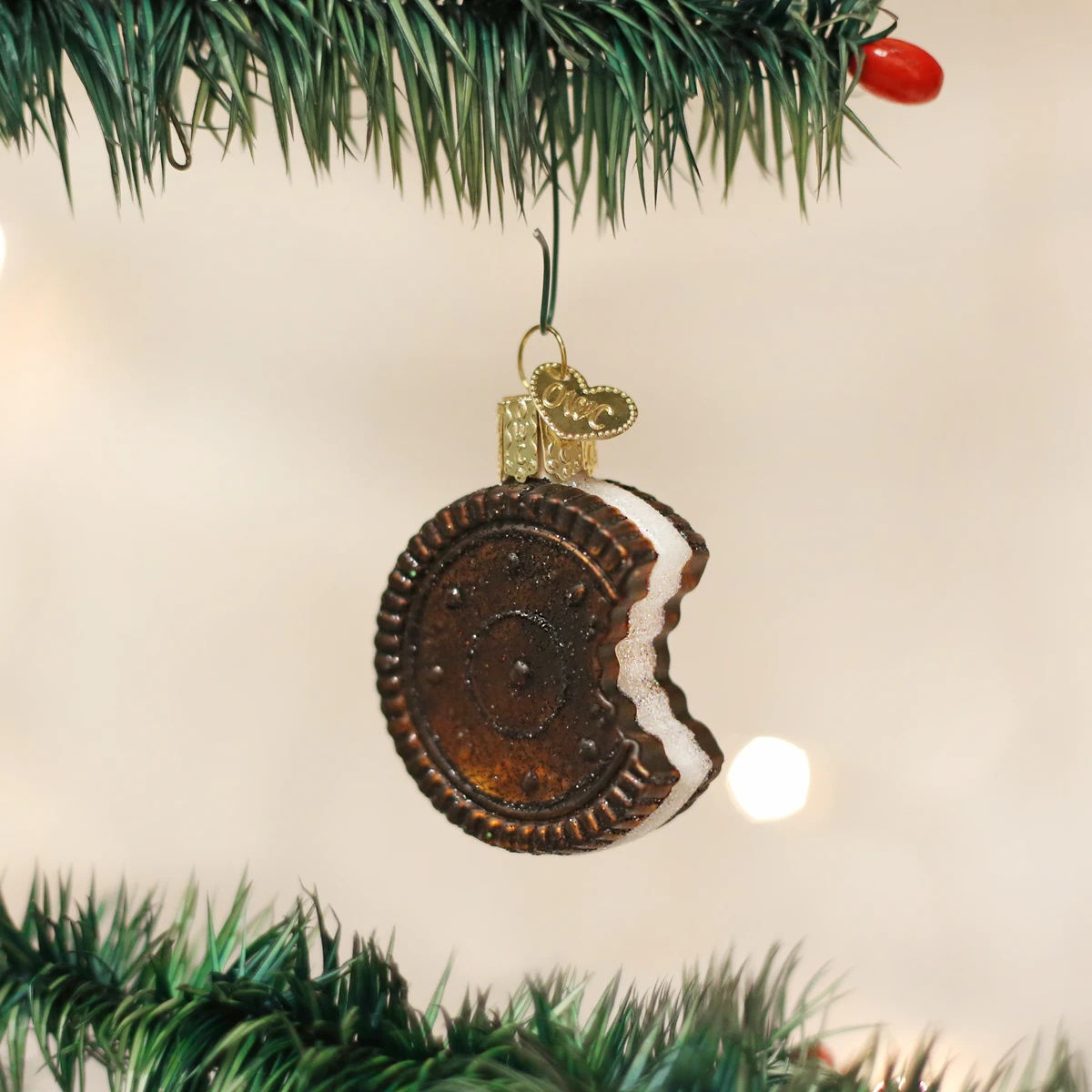 Sandwich Cookie Ornament by Old World Christmas