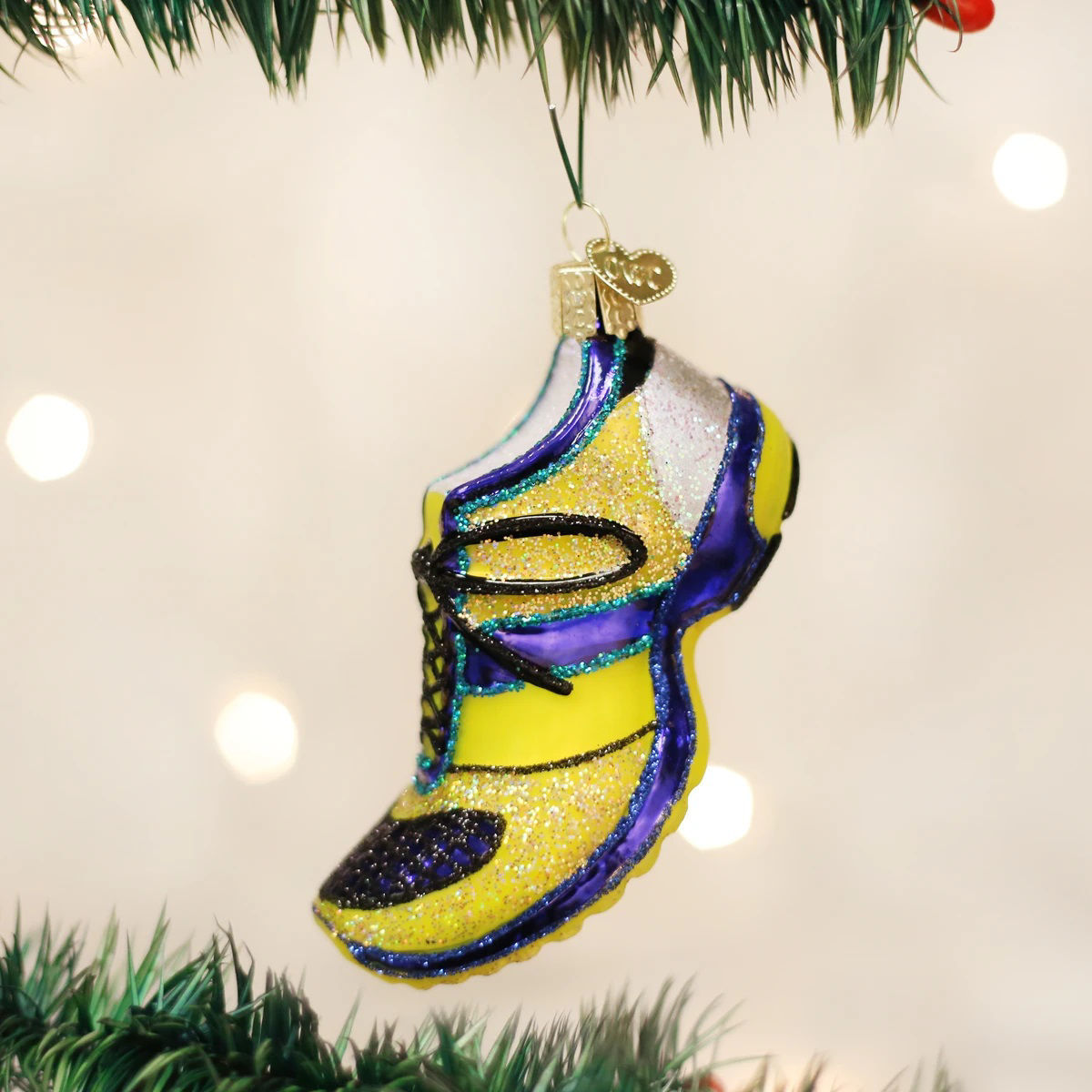Running Shoe Ornament by Old World Christmas