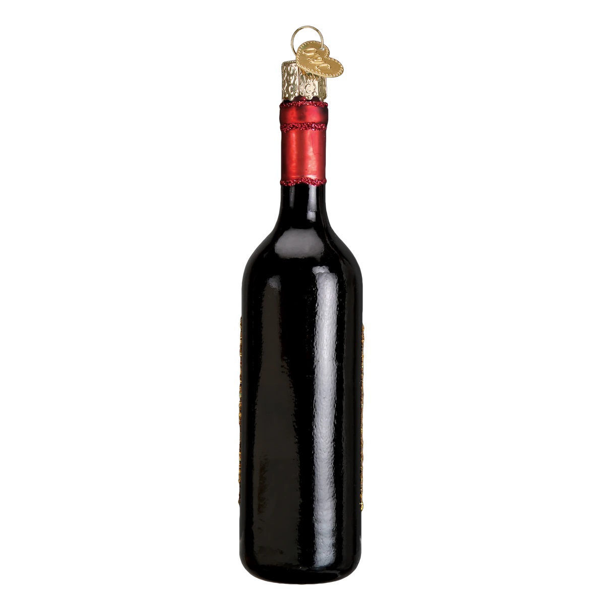 Red Wine Bottle Ornament by Old World Christmas