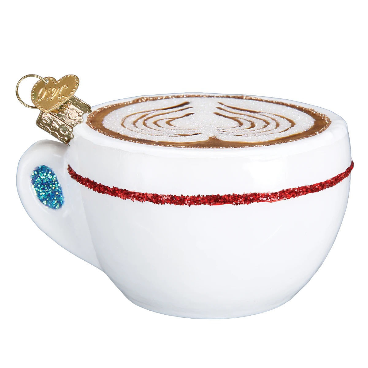 Cappuccino Ornament by Old World Christmas