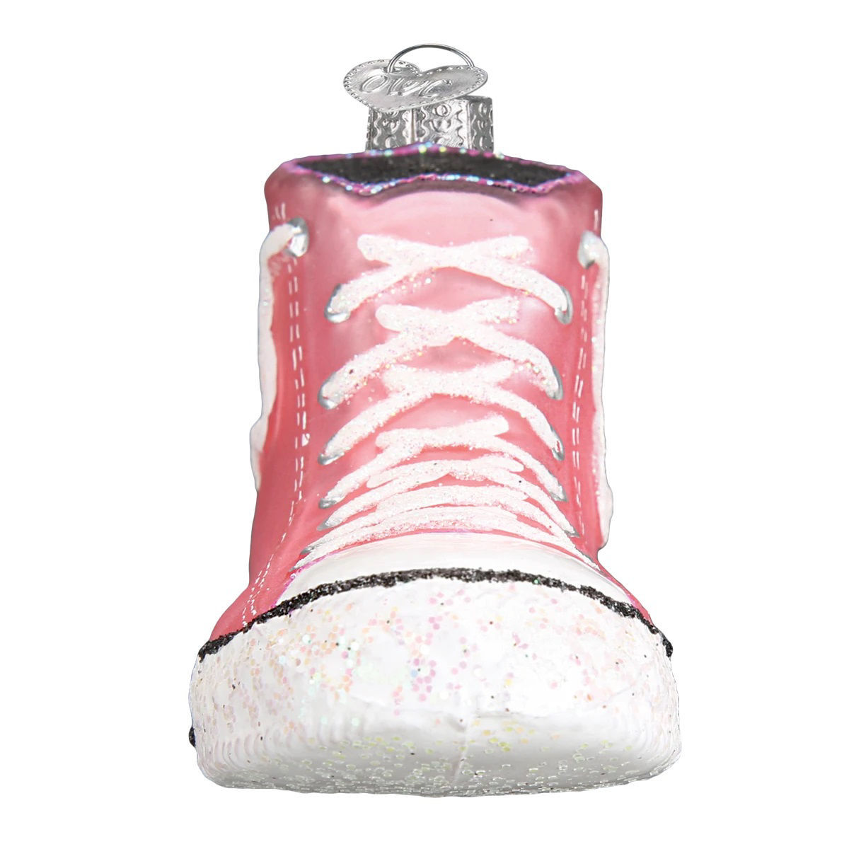 Pink High Top Sneaker Ornament by Old World Christmas