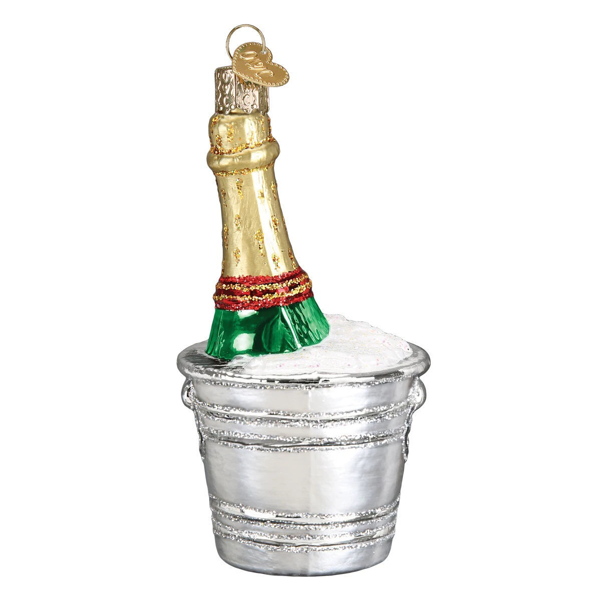 Chilled Champagne Ornament by Old World Christmas