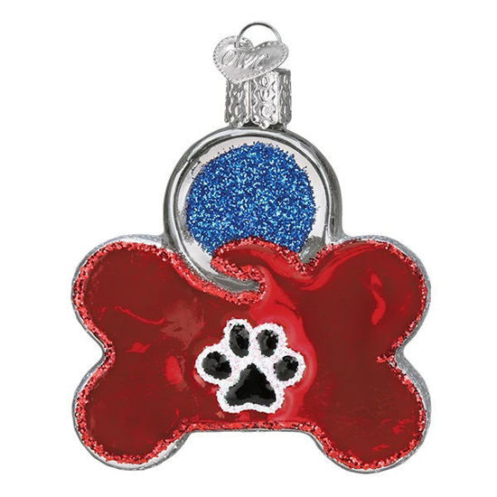 Dog Tag Ornament by Old World Christmas