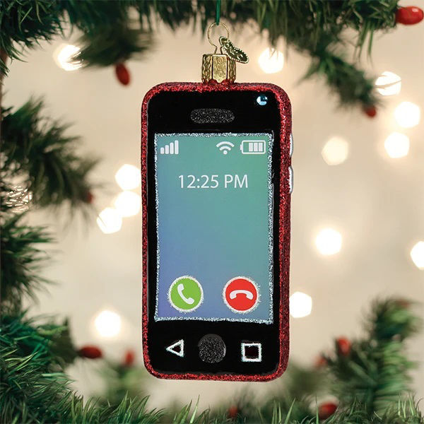 Smartphone Ornament by Old World Christmas