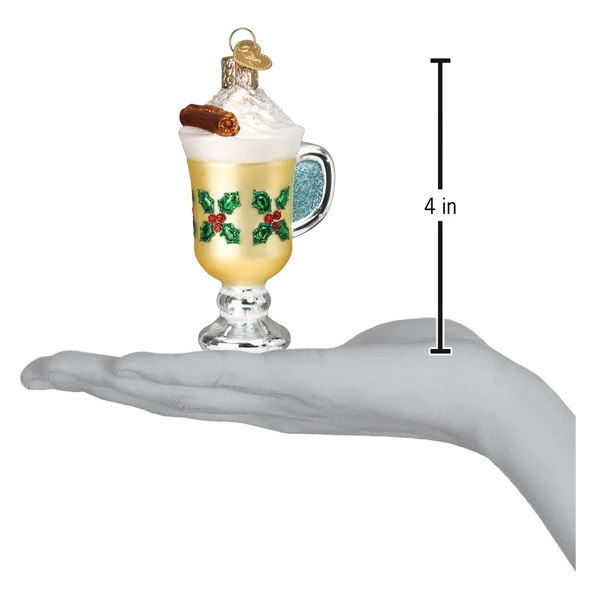 Eggnog Ornament by Old World Christmas