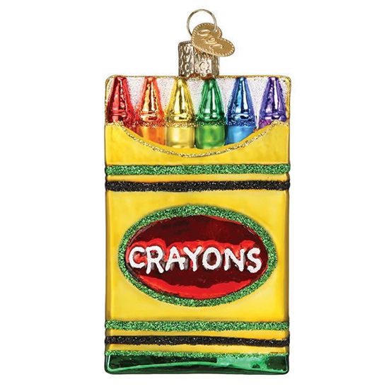 Box of Crayons Ornament by Old World Christmas