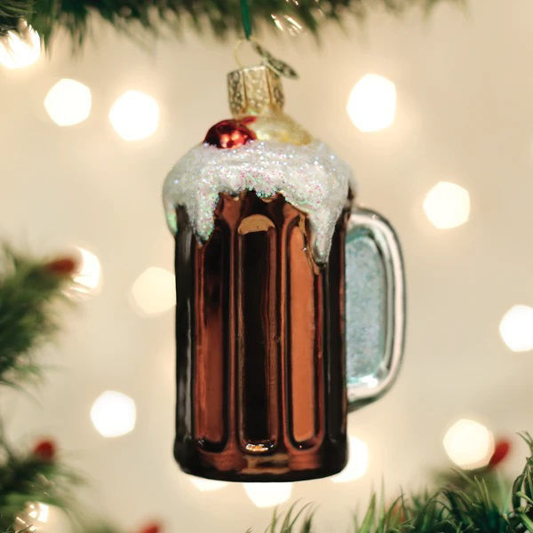 Root Beer Float Ornament by Old World Christmas