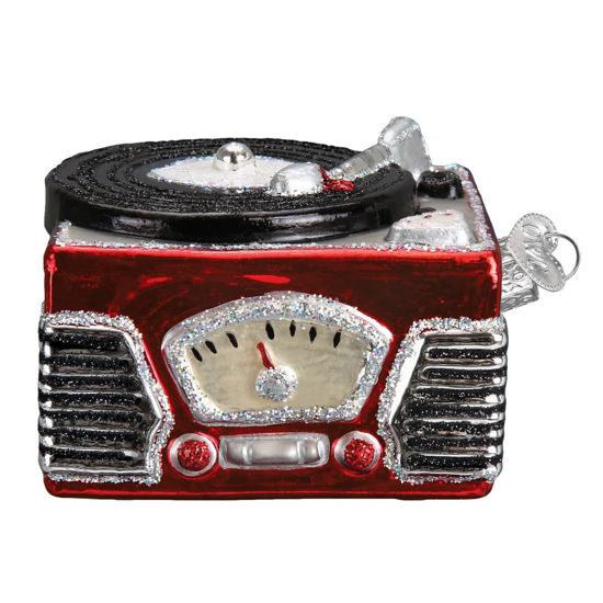 Record Player Ornament by Old World Christmas