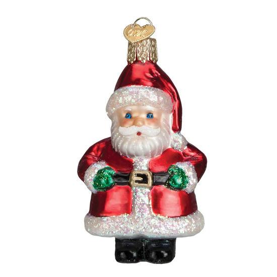 Short Stuff Santa Ornament by Old World Christmas