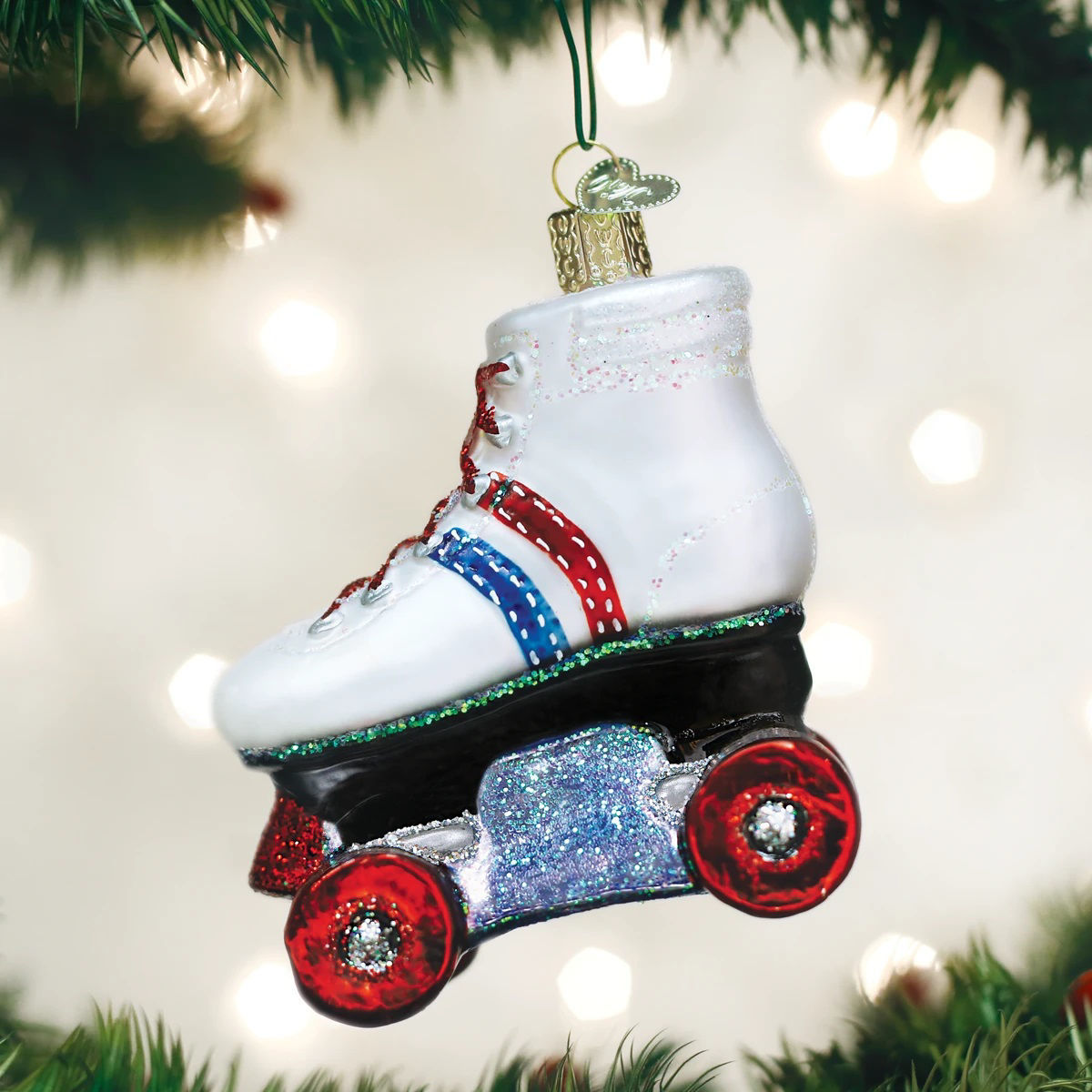 Roller Skate Ornament by Old World Christmas