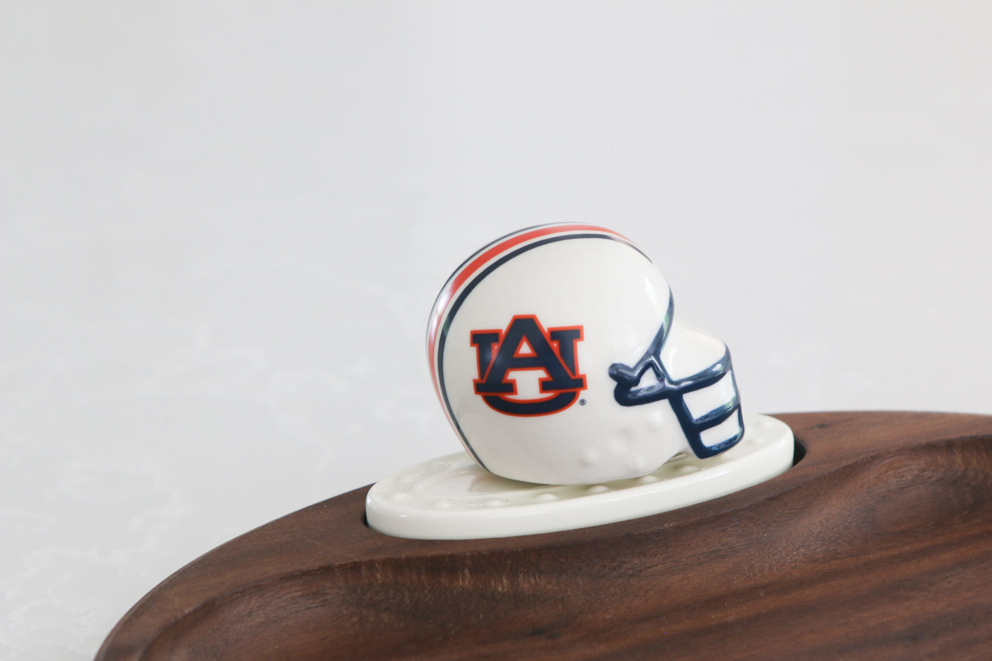 Auburn Helmet Mini by Nora Fleming