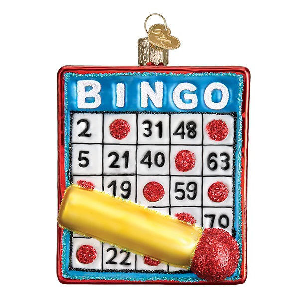 Bingo Ornament by Old World Christmas
