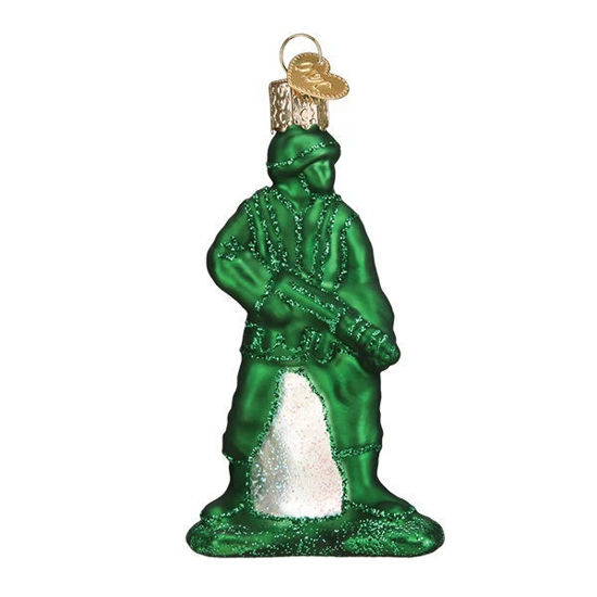 Army Man Toy Ornament by Old World Christmas