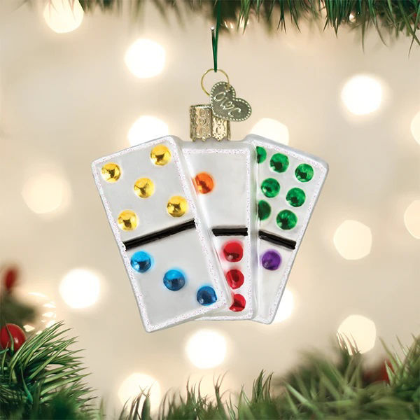 Dominos Ornament by Old World Christmas