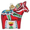 Swedish Dala Horse Ornament by Old World Christmas